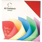 "American Crafts Cardstock Pack, 12"" x 12"", Primaries"