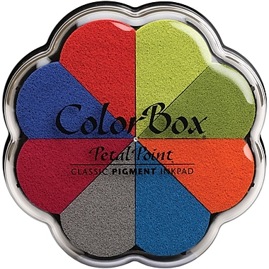 Clearsnap Colorbox Pigment Petal Point Option Pad, Beach Ball