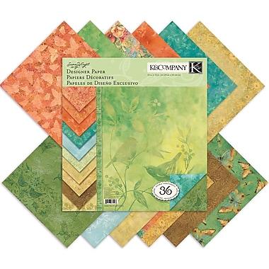 K&Company Nature Designer Paper Pad, 12