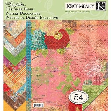 K&Company Que Sera Sera Double-Sided Designer Paper Pad 12