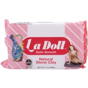 Activa La Doll Natural Stone Clay, 1.1 Pound, Satin Smooth