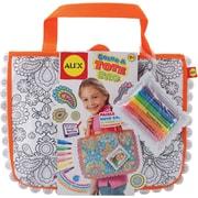 Alex Toys Color A Tote Bag Kit, Paisley Flower
