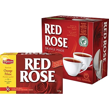 Red Rose Orange Pekoe Teas