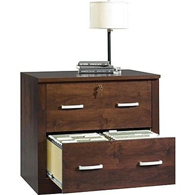Sauder Office Port Lateral File, Dark Alder