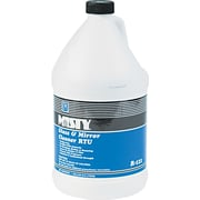 Misty® Glass & Mirror Cleaner With Ammonia, Floral, 1 gal Bottle, 4/Case