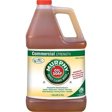 Murphy Oil Soap Concentrate, Fresh, 1 gal Bottle, 4/Ctn