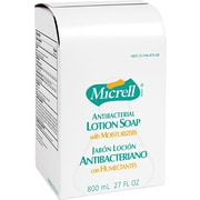 Micrell™ Antibacterial Hand Soap, Unscented, Refill, 800 ml, 12/Case