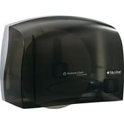 Kimberly-Clark® In-Sight Durable Plastic Coreless JRT Tissue Dispenser, Translucent Smoke/Gray
