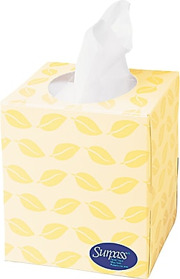 Surpass Facial Tissue, Cube Box, 2-Ply, 36/Case