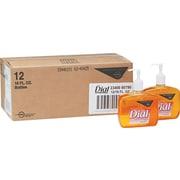 Dial® Liquid Antimicrobial Soap, Floral, 16 oz., 12/Case