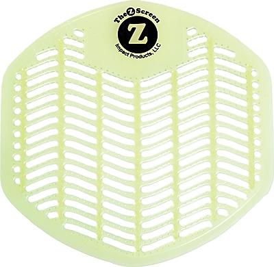 Impact Z-Screen Deodorizing Urinal Screen, Orchard Zing, Green, 12/box
