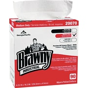 Brawny® Industrial Medium-Duty Premium DRC Wipes, 10 Boxes/Case