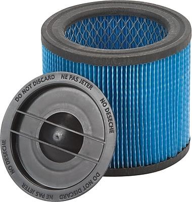 Shop-Vac Ultra-Web Cartridge Filter for HangUp Vacs, Blue