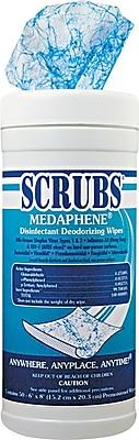 Scrubs Medaphene Cloth Disinfectant Deodorizing Wipe, 6/Case
