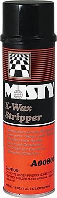 Misty X-Wax Floor Stripper, 18 oz.