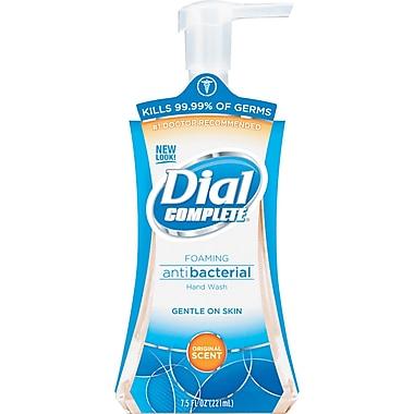 Dial® Complete Foaming Handwash Soap, Original scent, 7.5 oz., 8/Case