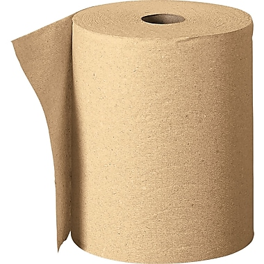 Envision® Nonperforated Paper Towel C-Roll, 1-Ply, Brown, 7.87