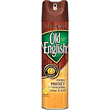 Old English Furniture Polish, Lemon, 12.5 oz.