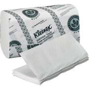 Kleenex® Folded Paper Towels, 1-Ply, 8 1/10 x 12 2/5, White, 3,000/Ct