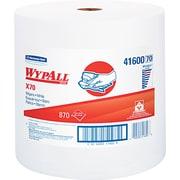 "Kimberly-Clark  Wypall  X70 Hydroknit Wipe, Unscented, White, 13.4""(W) x 12 1/2""(L)"