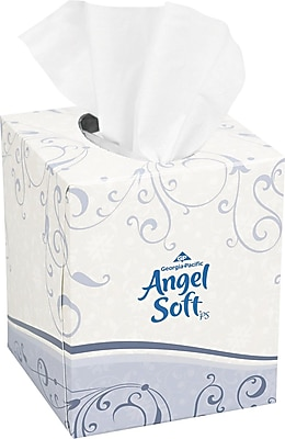 Angel Soft ps® Premium Facial Tissue, 2-Ply