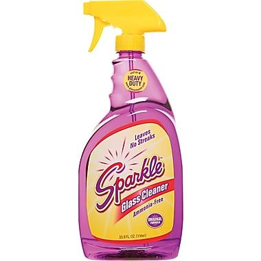 Sparkle Glass Cleaner, Unscented, 33.8 oz. Trigger Bottle