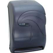 "San Jamar  Oceans  Tear-N-Dry Electronic Touchless Plastic Towel Dispenser, Black Pearl, 15 1/2""(H)"