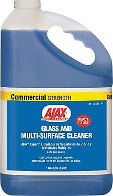 Ajax® Expert Glass & Multi-Surface Cleaner, Unscented, 1 gal Bottle