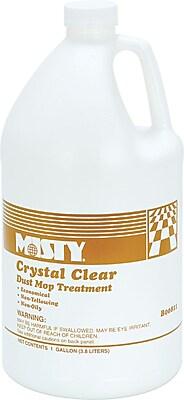 Misty® Crystal Clear Dust Mop Treatment, 1 Gallon, 4/Ct