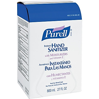 Purell Instant Hand Sanitizer Unscented, Clear 800 ml Refill