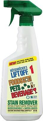 Motsenbocker's Lift-Off #1: Food, Beverage & Pets Stain Remover, Unscented, 22 oz.