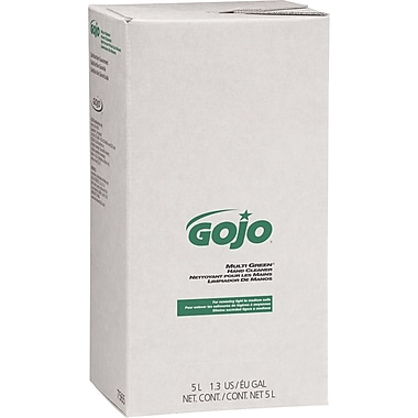 Gojo PRO 5000 Multi Green Hand Cleaner Refill, Citrus, 5000 ml, 2/Case