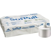 SofPull® 2-Ply CenterPull Toilet Paper by GP PRO, White, 1000 Sheets/Roll, 6 Rolls/Case (19510/19500)
