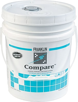 Franklin Cleaning Technology Compare Cleaner, Herbal Fresh, 5 gal Pail