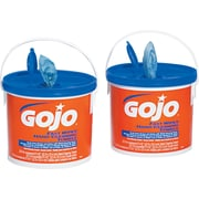 GOJO® Fast Wipes® Cloth Hand Cleaning Towel, Orange, 2 Tubs/Case