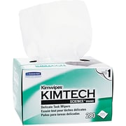 Kimtech Science® Kimwipes® Delicate Task Wipers, 1-Ply, 280 Wipes/Box (34155)