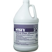 Misty Neutral Floor Cleaner EP, Pleasant Lemon, 1 gal Bottle