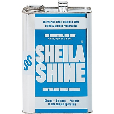 sheila shine stainless steel cleaner u0026 polish unscented