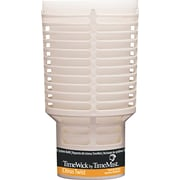 TimeMist  TimeWick Air Dispenser, Citrus Twist, Clear, 1.217 oz. Refill