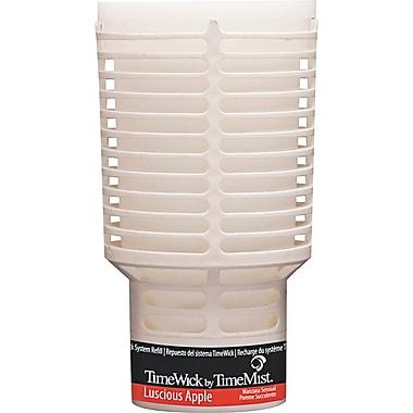 TimeMist TimeWick Air Dispenser, Luscious Apple, Clear, 1.217 oz. Refill