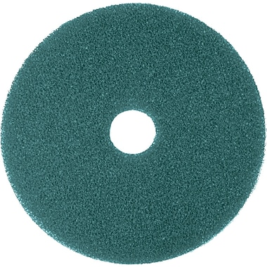 3M Nylon / Polyester Fiber 5300 Cleaner Pad, Blue, 17