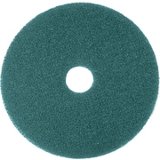 "3M Nylon / Polyester Fiber 5300 Cleaner Pad, Blue, 17""(Dia)"