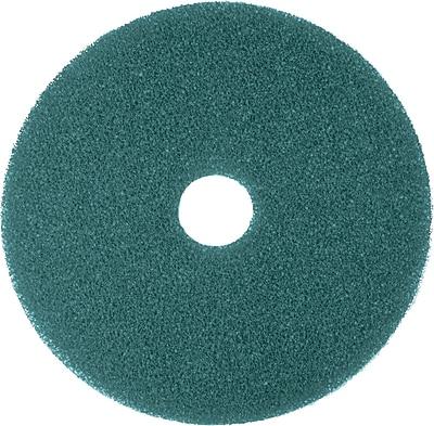 3M Nylon / Polyester Fiber 5300 Cleaner Pad, Blue, 17