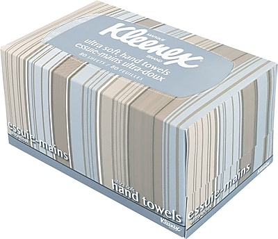 Kleenex® Pop-Up Box Ultra Soft Hand Towels, White, 70/Box