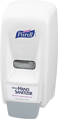 Purell Plastic Bag-In-Box Hand Sanitizer Dispenser, White, 800 ml, 11