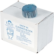 Fresh Products Restroom Drop-In Tank Non-Para Cleaner Block, Unscented, 24/Box (DIB)