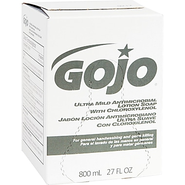 GOJO® Ultra Mild Lotion Soap With Chloroxylenol, Refill, 800 ml