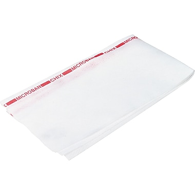 Chix Fabric Food Service Towel, White, 24