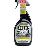 Simple Green® Stainless Steel One-Step Cleaner and Polish, Unscented, 32 Oz.