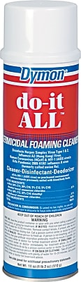 Dymon do-it ALL Germicidal Foaming Cleaner, Unscented, 18 oz.